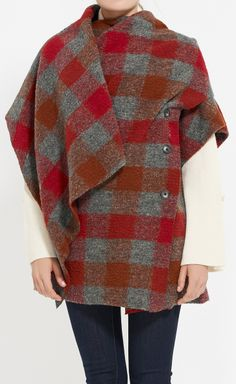 Thakoon Addition Red And Grey Jacket
