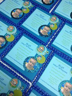 Bubble Guppy Invitations