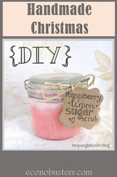 handmade sugar scrub and more