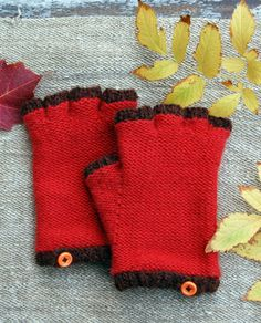 Cashmere Fingerless Gloves - the purl bee