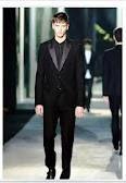 Single button wedding suit