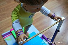 Doll Play Day 94 Make Gymnastics Grips for your Doll — Doll Diaries