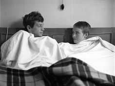 "Jean-Paul Belmondo and Jean Seberg. ""Breathless"" (1960)"