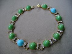Vintage  Delillo Choker Necklace by truthorwear on Etsy, $215.00