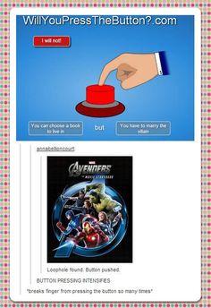 Button pushed. ........ten thousand times.