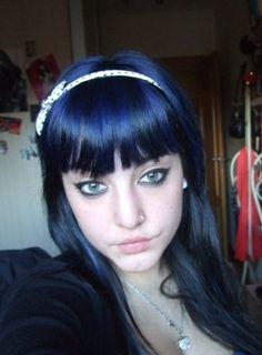 Blue Black Hair Color