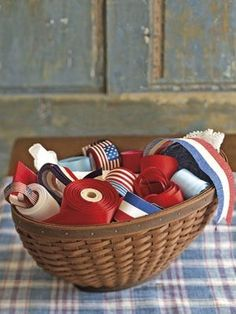 7 vintage Fourth of July paper craft projects