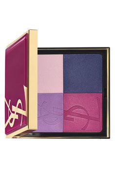 ysl: rock candy 4 color eyeshadow palette