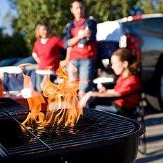 "10 Rules For Hosting The Most Unforgettable Tailgate: 1) a well-stocked bar - ""margarita machine"" is plus ;-)  2) no tailgate is complete without a game of cornhole 3) good music 4) a good grill - inexpensive and portable 5) good food and plenty of it 6) good company"