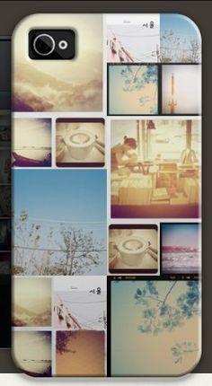 Instagram photos as a case!