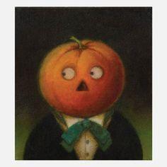 Pumpkin Man Portrait 2 now featured on Fab.