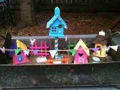 DIY Fairy Garden ~ Fairy Home Ex(s).