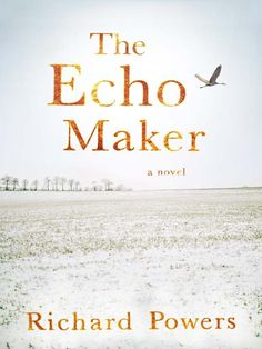 'The Echo Maker' by Richard Powers. National Book Award winner for Fiction & a Pulitzer Prize for Fiction finalist.