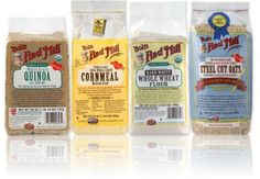 Bob's Red Mill Products- Best brand for healthy flours, gluten free products, etc.