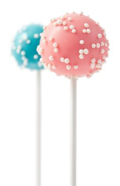 Gender Reveal Cake Pops | Gender Reveal Party | The Pig and the Rabbit