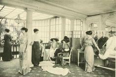Les Createurs de La Mode 1910 - 23 - Salon de Vente - Paquin