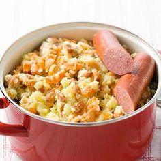 Recept - Hutspot met bruine bonen - Allerhande