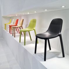 Colorful & Eco Broom Chairs: A Phillipe Starck + Emeco Collaboration  Dwell on Design 2013