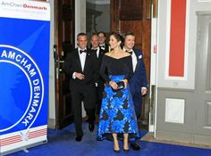 30 OCTOBER 2014 American Chamber of Commerce Denmark's 15th Anniversary 2014 Crown Princess Mary and Crown Prince Frederik were invited as guests of honour at the American Chamber of Commerce's huge gala dinner in connection with its 15th anniversary - 30 October 2014