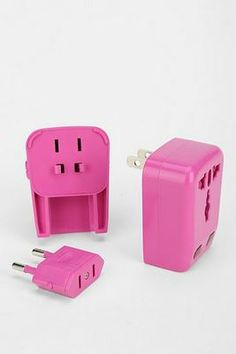 Travel Adapter that works in most countries. Must have!