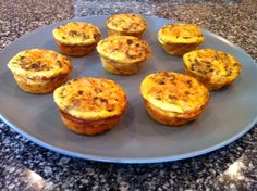 Holley's Ham and Swiss Breakfast Muffins
