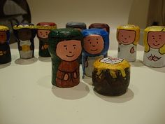 nativity sets, wine corks, christmas crafts, christma decor, homemade christmas decorations, craft stores, wine bottles, christma craft, nativity scenes