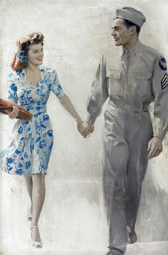 I want her dress. #1940s