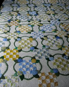 Country Wedding Ring Quilt