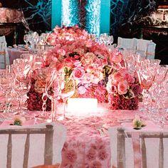 Brides Magazine: Glamorous Urban Garden Party : Wedding Reception Idea Gallery