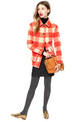 Obsessed w the buffalo plAid pattern for fall