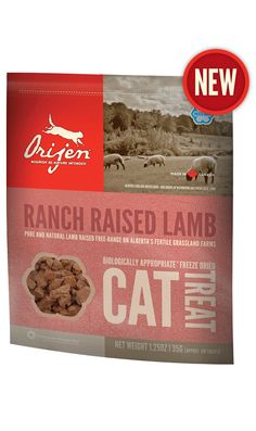 Ranch Raised Lamb Freeze Dried Cat Treat
