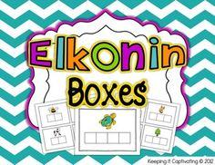 Elkonin Boxes {Phoneme Segmenting}