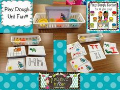 Play Dough Center Unit!  $