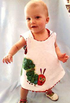 hungry caterpillar dress
