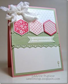 LeAnne Pugliese WeeInklings Six-Sided Sampler Itty Bitty Banners Stampin Up