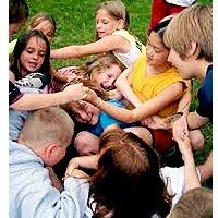 Human Knot - To build children's team work skills.
