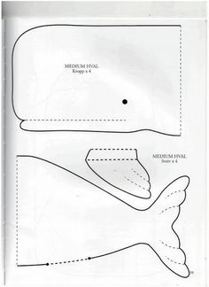 Tilda whale pattern