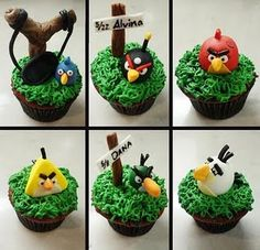cupcakes, birthday parties, funny stories, birthday themes, birds
