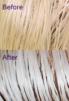 How to Bleach your Hair Platinum Blonde or White