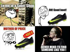 Shoes rage