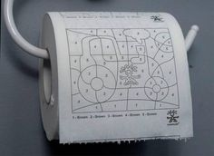 Crumpler - Paint by Numbers Toilet Paper