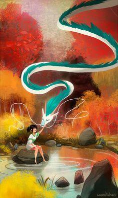 Spirited Away by  Wendi Chen