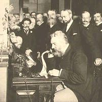 """What were the first words ever spoken on the telephone? They were spoken by Alexander Graham Bell, inventor of the telephone, when he made the first call on March 10, 1876, to his assistant, Thomas Watson: """"Mr. Watson--come here--I want to see you."""" What would you have said?"""