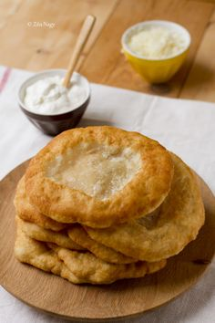 Lángos, Hungarian Street Food ~ Lángos is also very popular and known as a fast food at fairs and in amusement parks in Austria, the Czech Republic, Slovakia, Croatia, in Serbia and in Romania....