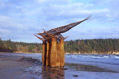 Woven sculpture Alastair Heseltine