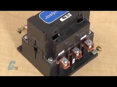 Product Overview: #GalcoTV takes a look at Joslyn Clark's 5DP Series Definite Purpose Contactor...  5DP Definite Purpose Contactors are designed for DC adjustable speed drive circuits using silicon controlled rectifier switching and other controls where a combination of normally open and normally closed power contacts are required.