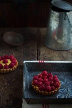 Tartaletas clásicas de crema. Receta para San Valentín
