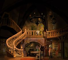 Victoria Ying's Art: Artwork from Tangled!