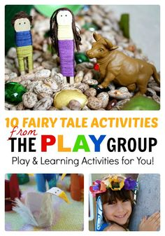 10 Fairy Tale Activities from The PLAY Group at B-InspiredMama.com #kids #learning #preschool #play #kbn