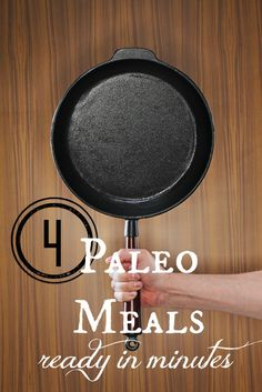 4 Paleo Meal Recipes